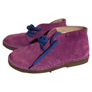 L. L. Bean Purple Suede Booties - Girl's Size 13